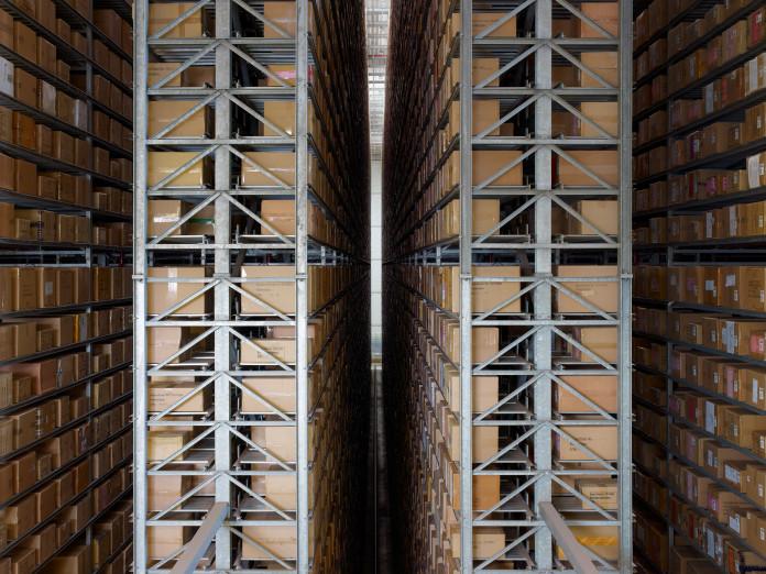 Online merchant's high bay warehouse, Haldensleben, Germany