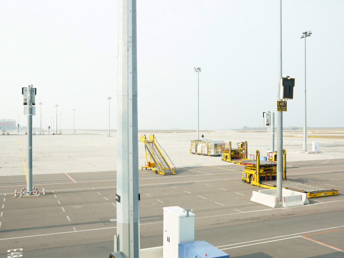 Freight airport, Leipzig, Germany