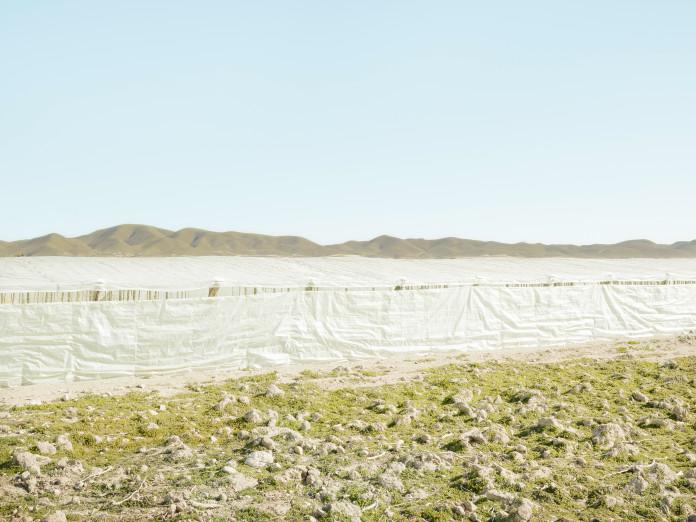 Plastic greenhouses near Lorca, Andalusia
