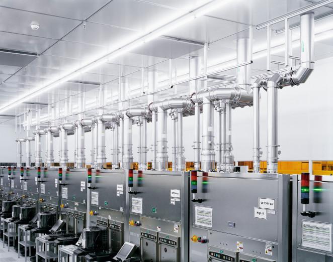 Thermische Prozesse, Halbleiterproduktion