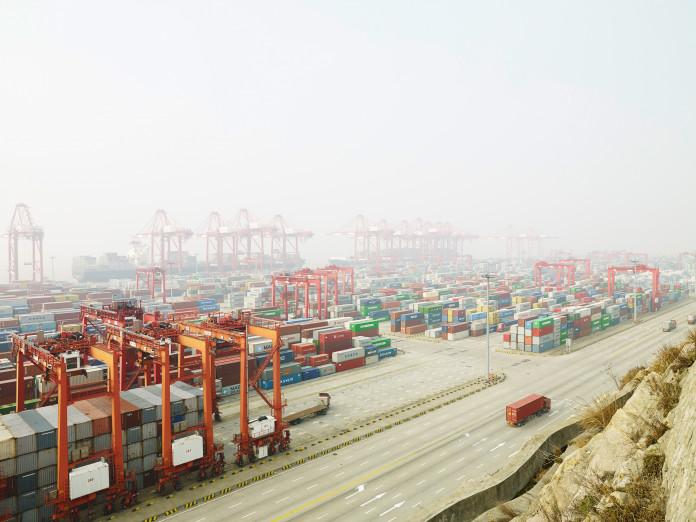 Tiefwasserhafen Yangshan, China