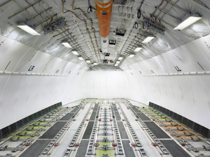 Frachtflugzeug, Frankfurt, Deutschland