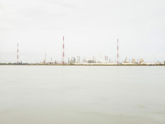 Ölraffinerie in Antwerpen, Belgien