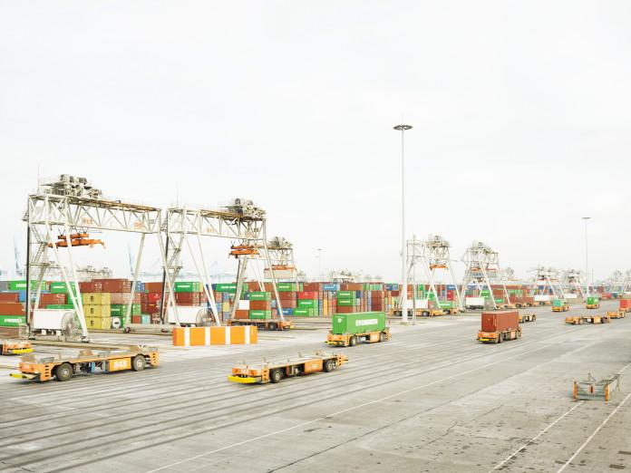 Automatisierte Transportsysteme, Rotterdam, Niederlande