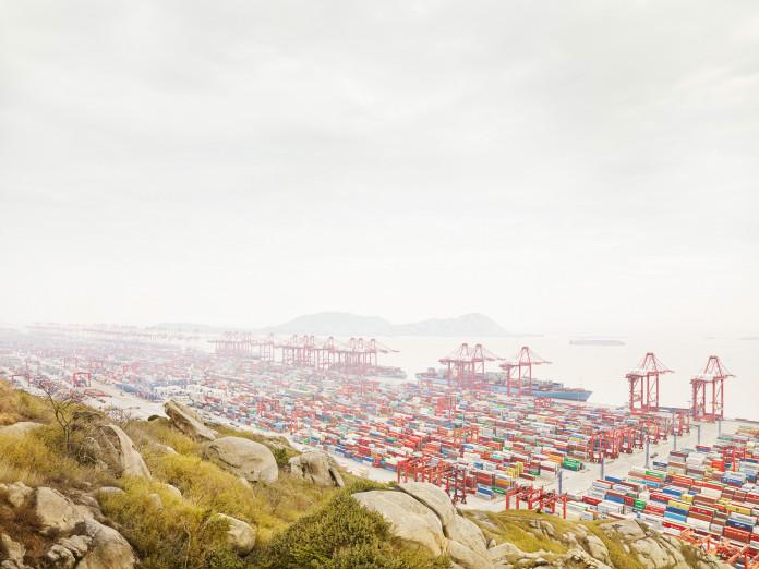 Containerterminal, Yangshan Tiefwasserhafen, China