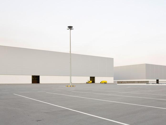 Lagerhalle in Vilarreal, Spanien