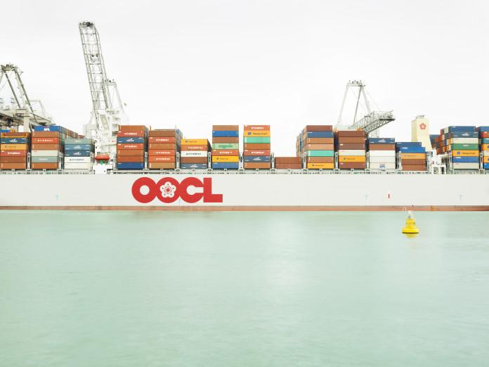 Containerentladung, Rotterdam, Niederlande