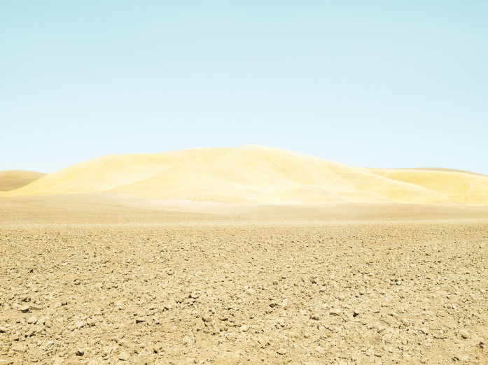 Brachliegender Acker, Paso Robles, USA