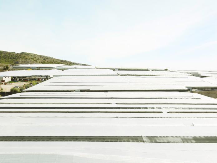 Agrarlandschaft in El Ejido, Spanien